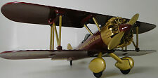 Vintage Aircraft Airplane Metal Rare Pre WW2 Military Armor 1 48 Carousel Gold