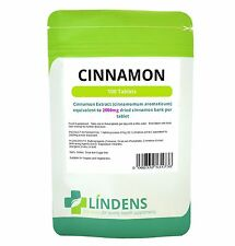 CINNAMON 2000mg, **100 tablets high strength weight loss, digestive, cramps, flu
