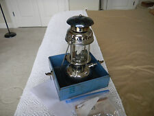Vintage Optimus 1200 B? Lantern Lamp Made Sweden Plus Blue Metal USMC Box