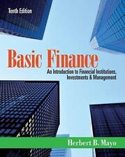 Basic Finance : An Introduction to Financial Institutions, Investments and...