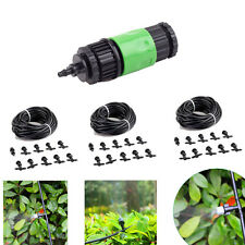 100ft Outdoor Garden Patio Misting Cooling System 30 Plastic Mist Nozzle