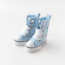 Neo Blythe Pullip Azone Doll Canvas Sneakers Micro Shoes - Blue