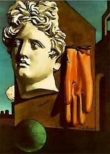 De Chirico cod 09 Poster 50x70 cm Stampa Glicée Papi, Papi Arte