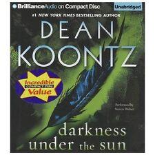 DARKNESS UNDER THE SUN unabridged audio book on CD by DEAN KOONTZ