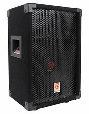 "Rockville RSG8 8"" 300 Watt 2-Way 8-Ohm Passive DJ/Pro PA Speaker, Pole Mountable"