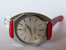 Women's OMEGA CONSTELLATION Quartz Watch. 25mm Silver Dial. Push Button Crown