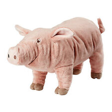 IKEA KNORRIG Soft toy pig plush pink and cuddly, perfect for kids,The gift -B111