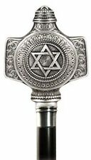 King Solomon Star of David Walking Cane by Marto of Toledo Spain 864S