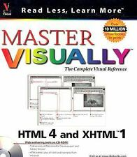 Master VISUALLY HTML 4 and XHTML 1, Kelly L. Murdock, 0764534548, Book, Acceptab