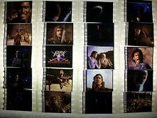 ARMY OF DARKNESS Lot Master Set of 100 Film Cells Compliments movie dvd poster