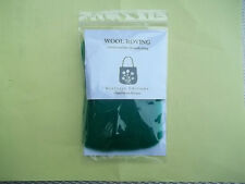 """Wistyria 100% Wool Roving 12"""" Package .2 Ounces GREEN New Needle Felting"""