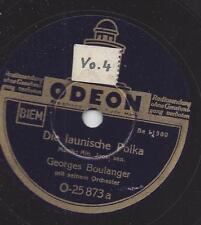 Georges Boulanger Orchester : Die launische Polka + Die verliebte Geige