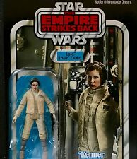 Star Wars ESB Vintage VC02 Princess Leia Hoth Outfit Carrie Fisher MOC figure