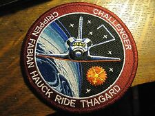 NASA Space Shuttle STS-7 USA 1983 Rocket Embroidered Crew Jacket Uniform Patch
