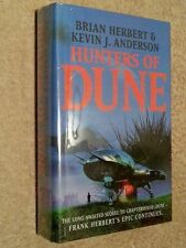 Brian Herbert & Kevin J Anderson HUNTERS OF DUNE 1st Edn UKHC