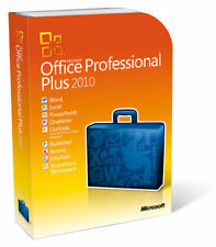 Microsoft Office Professional Plus 2010 Vollversion MS Pro Deutsch 32 & 64 Bit