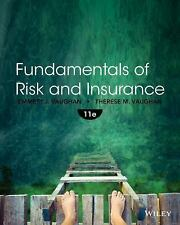 NEW - Fundamentals of Risk and Insurance