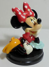 DISNEY - DE AGOSTINI ITALY MINNIE MOUSE POIS DRESS 4'' DETAILED PVC FIGURE STAND