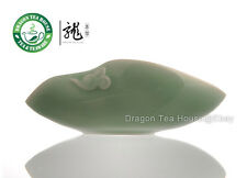 Plum Green Celadon Cha He * Tea Presentation Vessel