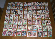 70 NEW JERSEY DEVILS HOCKEY CARD COLLECTION - 1970's - 1980's