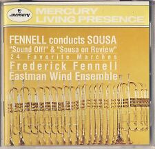 Mercury Living Presence. Fennel Conducts Sousa: 24 Favorite Marches Like New
