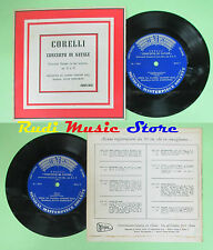 LP 45 7'' CORELLI Concerto di natale ORCHESTRA DA CAMERA CONCERT HALL no cd mc