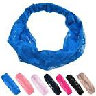 Women Lady Elastic Turban Head Wrap Headband Twisted Knotted Hairwear Hair Band