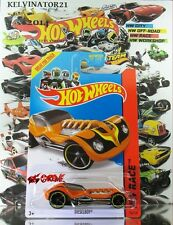 Hot Wheels 2014 #154 Dieselboy® ORANGE,1stCOLOR,YELLOW RIM,BLACK OH5SP,BLK BS,US