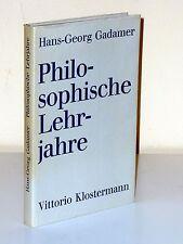 Hans-Georg Gadamer: filosófica sujetos. EA 1977
