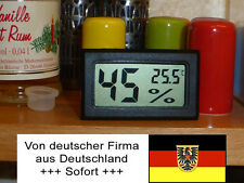 Digital Hygrometer Thermometer, Feuchtemesser, Wohnwagen, Zelt, Boot