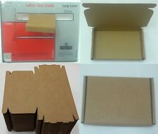 100 STRONG CARDBOARD BOX QUALIFYING ROYAL MAIL LARGE LETTER SHIPPING MAILING