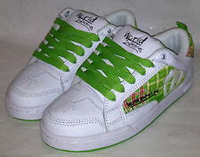 "30dy-world ind"" - chaussures-fouet-blanc/vert - 3.5 - uk 4 = usa wms 6"