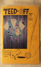 New Vtg Cindy Young Teed Off Pattern 111