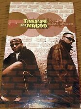 Timberland & Magoo - Clock Strikes 1998 RAP Tape Single Sealed