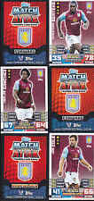 MATCH ATTAX 14/15 Cissokho ASTON VILLA Card No.23 FREE POSTAGE