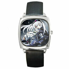 Anime Rozen Maiden Suigintou Leather wrist watch