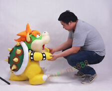 Super Mario Bros. Bowser Soft Plush Doll Toy 30 Inch Big Giant Plush Handmade