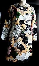 Raoul Floral Coat Artistic Trench Coat Etro sz 2/sz XS Desigual NWT$385