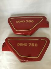 Yamaha 750 XS XS750 Used Right Left Side Cover Pair 1977