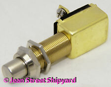 Marine Boat Push Button Switch Off / Momentary On Horn Starter Seachoice 11781