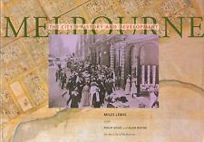 Melbourne The City's History and Development by Miles Lewis BOOK Victoria