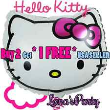 Hello Kitty Birthday Party Balloon  - Buy 2 get 1 free USA Ship
