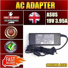 For ASUS K50IJ-SX145L K50IJ-SX037C Battery Mains Power Charger 19v 3.95a