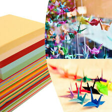 100Pcs Mixed Color Kids DIY Origami Paper Double Sided Color Craft Scrapbooking