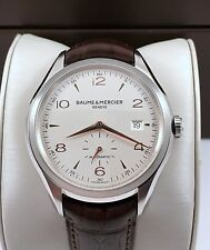 2015 Baume Mercier Clifton Automatic Mens Watch Model M0A10054 Mint Condition