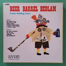 BEER BARREL BEDLAM In Beer Bubbling Stereo Reel To Reel Audio 7 1/2 IPS 2058