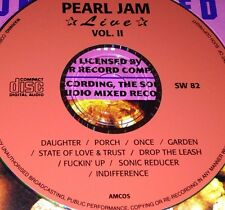 Pearl Jam Live Vol. 2 CD Very Rare Daughter Porch Once State Of Love & Trust