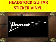 IBANE JEM WHITE PEGATINA STICKER GITARRE VISIT OUR STORE WITH MANY MORE MODELS