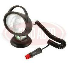 LAM2332 MAGNETIC BASE & SUCTION HEAVY DUTY OVAL SPOT WORK LAMP 12 V WITH PLUG