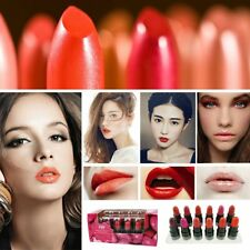 12 pcs Mini Lip Pencil Set Bright Lip Gloss Makeup Lipstick Long Lasting Beauty